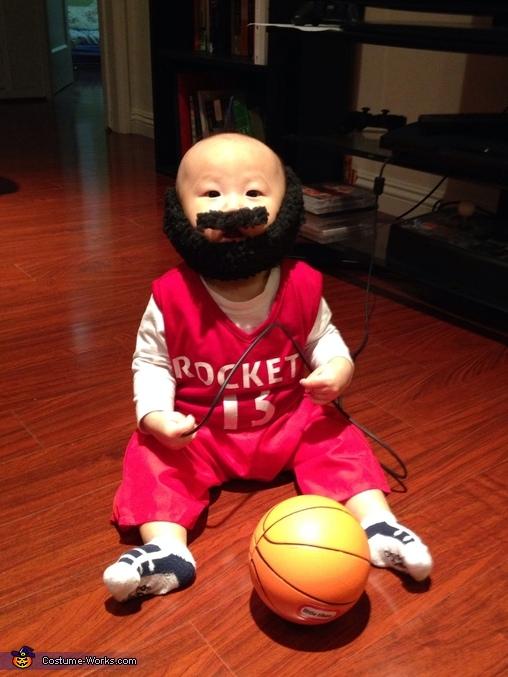 Baby James Harden Costume