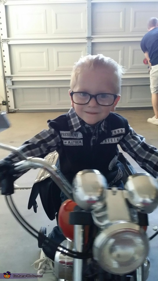 Baby Jax Teller Halloween Costume & Baby Jax Teller Halloween Costume - Photo 4/4