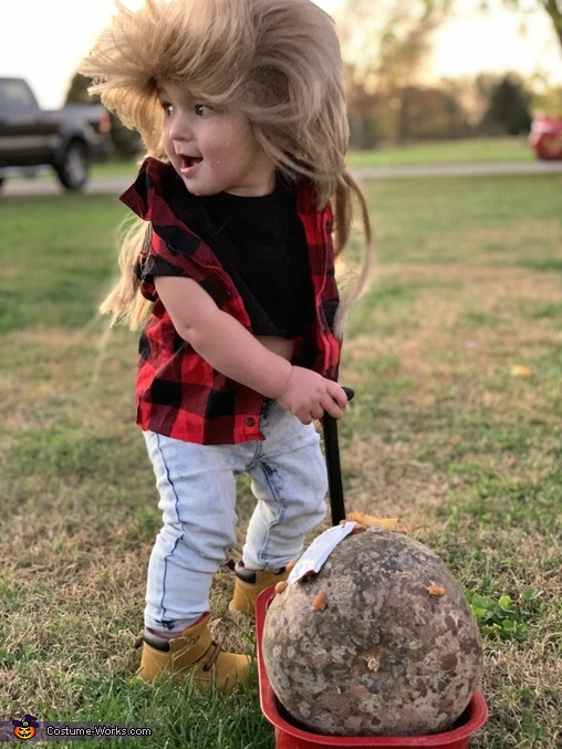 Baby Joe Dirt & Joe Meteorite Costume
