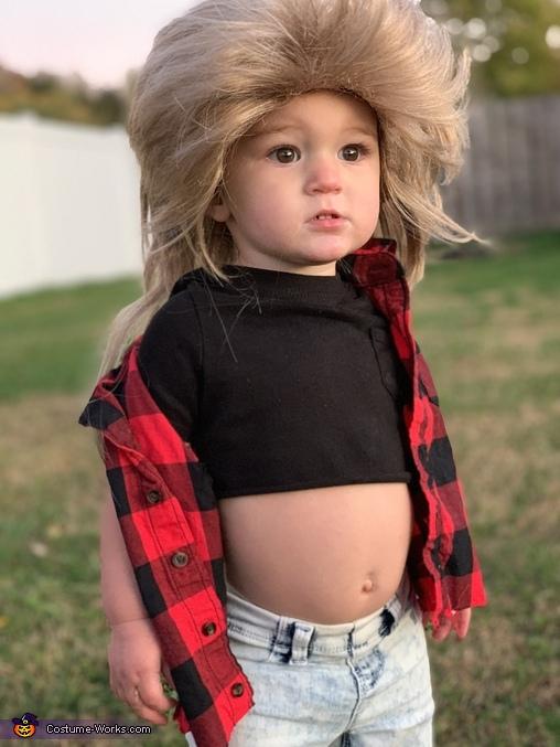 Baby Joe Dirt & Joe Meteorite Homemade Costume