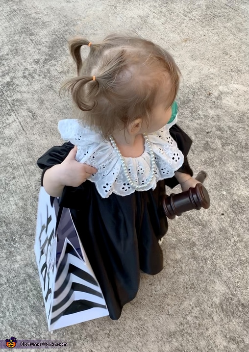 Baby Justice RBG Costume