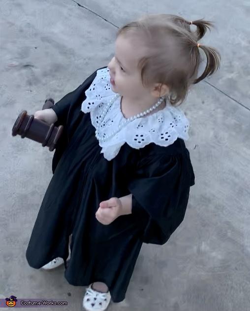 Baby RBG 4, Baby Justice RBG Costume