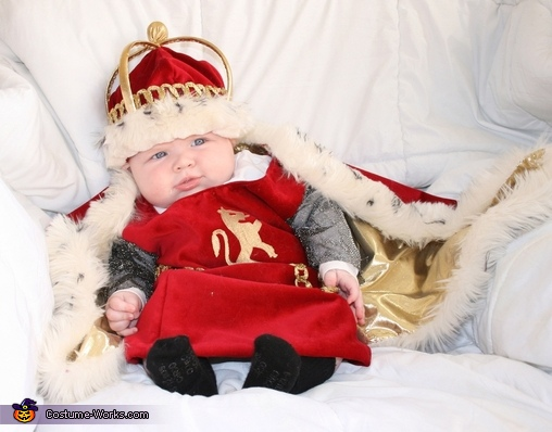 King James, King James Baby Costume