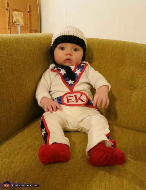 Evel Knievel Baby Costume