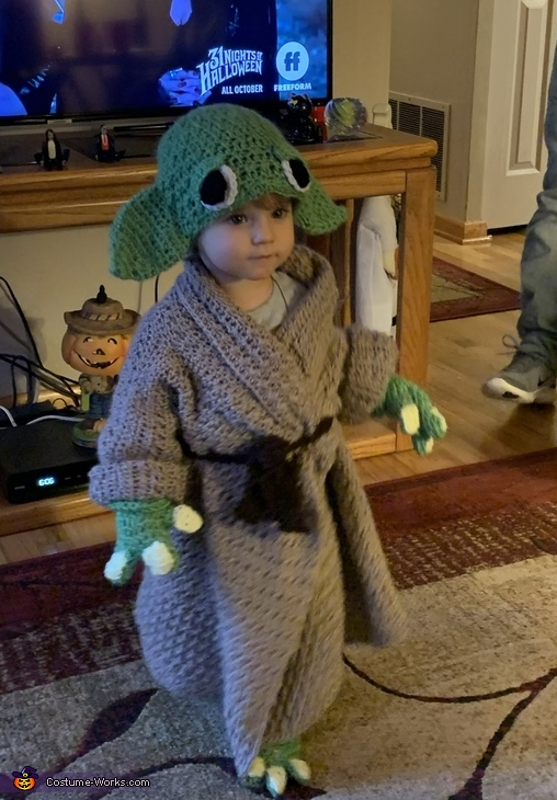 Baby Lily Yoda Costume