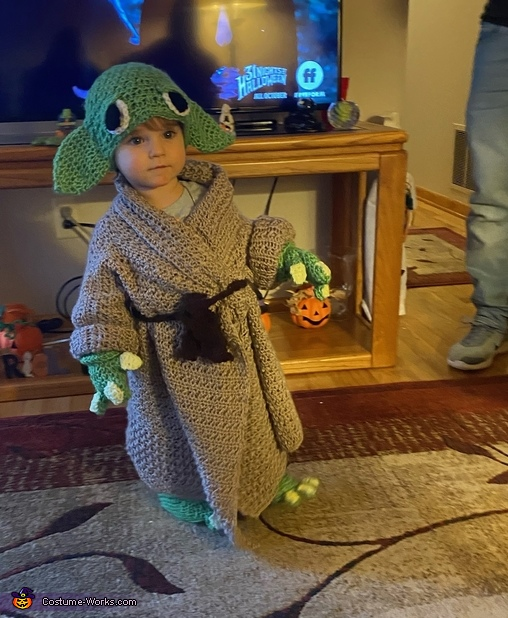 Baby Yoda, Baby Lily Yoda Costume