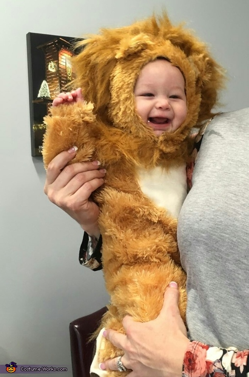 Baby Lion Kenny Costume