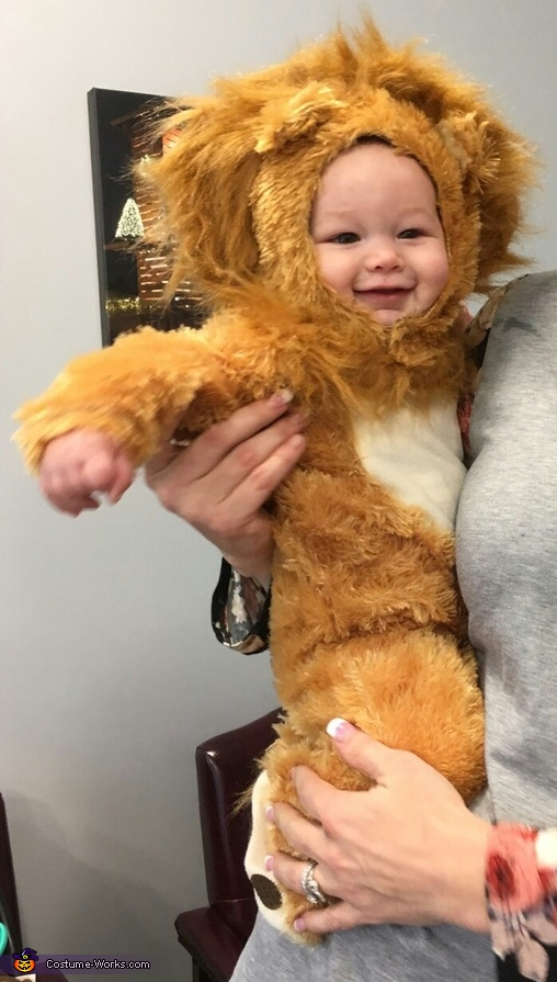 Smiling Lion, Baby Lion Kenny Costume