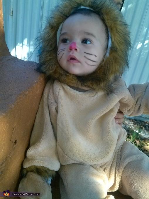 Kayden, Baby Lion Costume