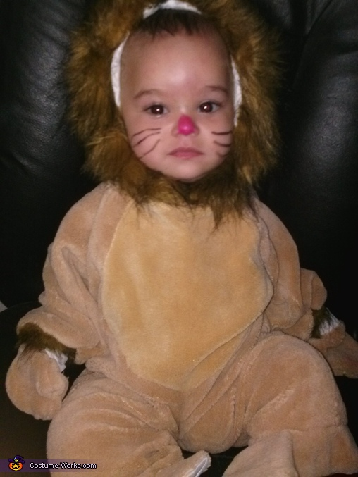 Serious baby lion, Baby Lion Costume