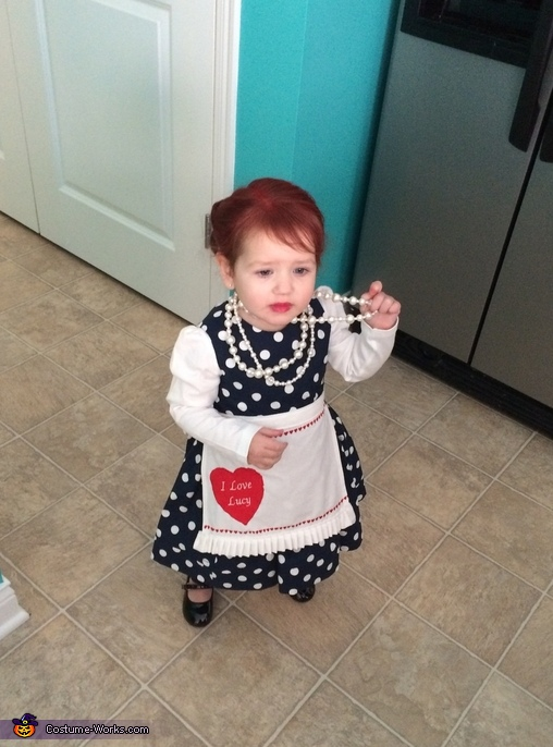 Baby Lucy standing, Baby Lucy Costume