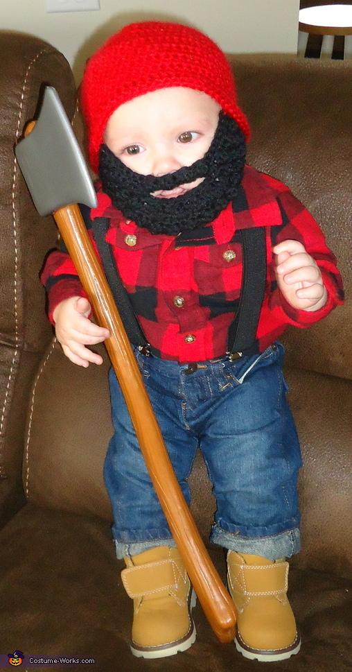 Baby Lumberjack Costume