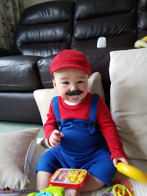 Baby Mario Homemade Costume