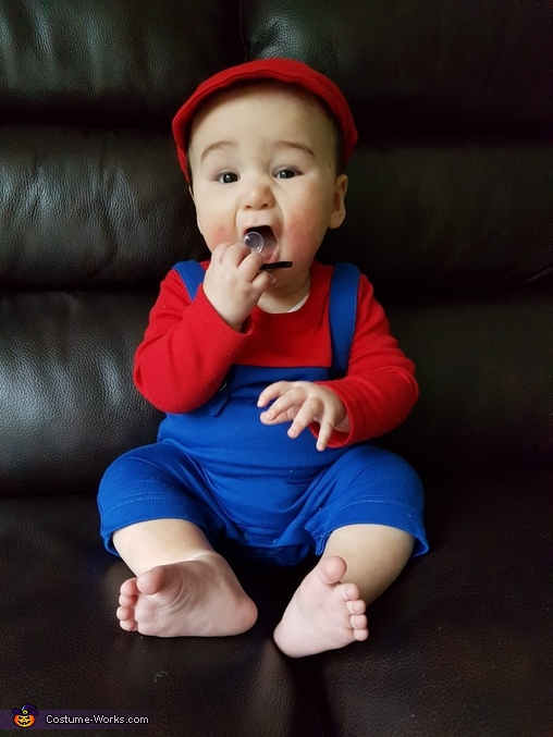 Baby Mario Homemade Costume
