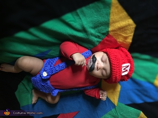 Baby Mario Costume