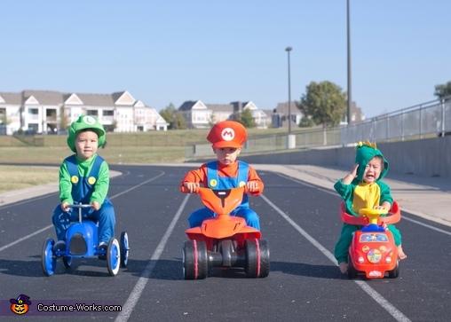Baby Mario Kart Costume