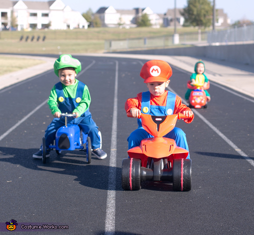 and they're off!, Baby Mario Kart Costume