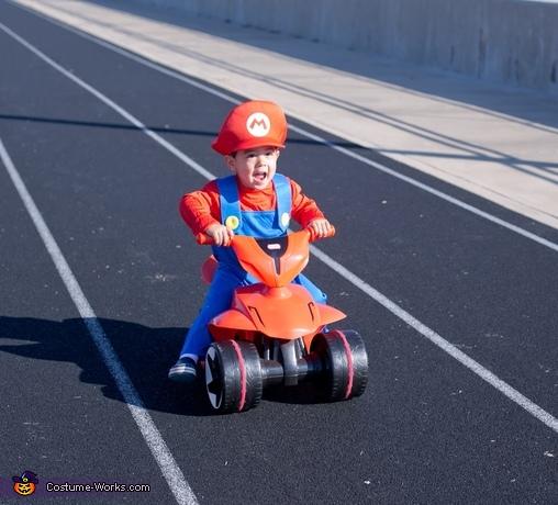 baby mario, Baby Mario Kart Costume