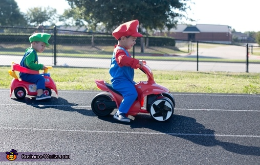 go mario! go!, Baby Mario Kart Costume