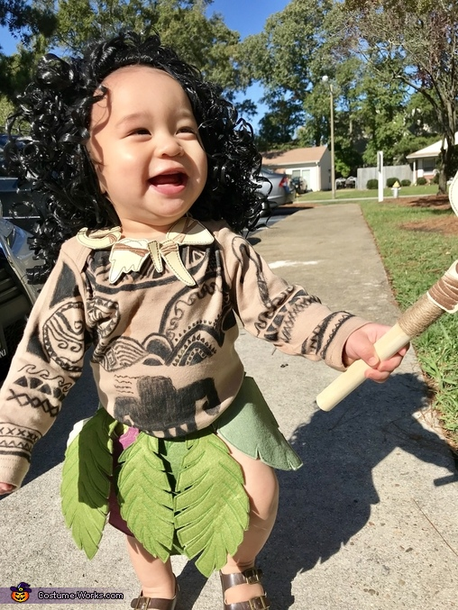 Baby Maui Costume