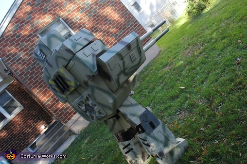 Baby Mech Homemade Costume