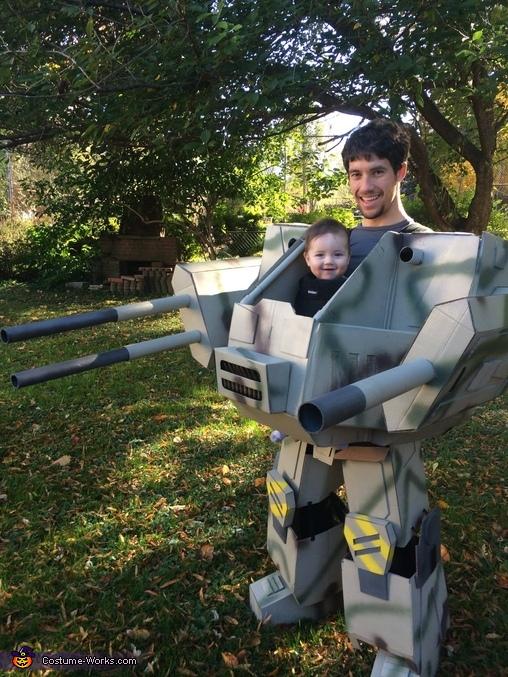 Baby Mech Costume
