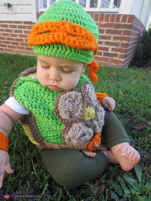 Michelangelo Baby Costume