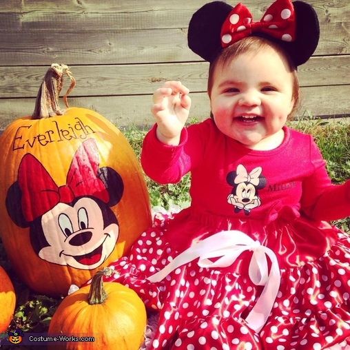 Baby Minnie Mouse! :), Baby Minnie Mouse Costume