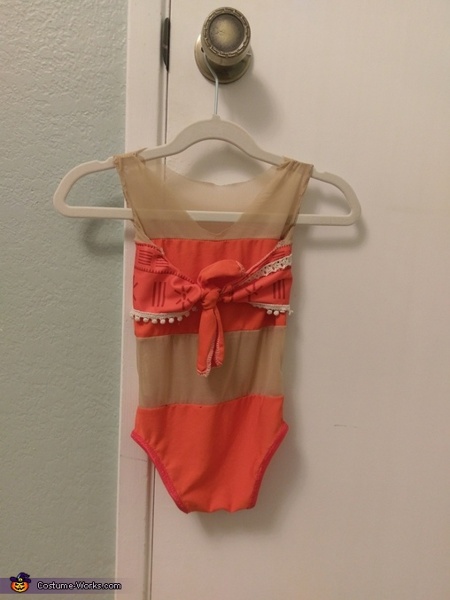 Baby Moana Homemade Costume