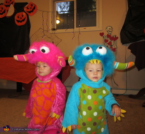Jake & Ally, Baby Monster Costume