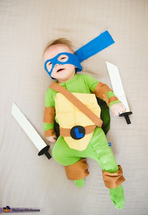 Baby Mutant Ninja Turtle Costume
