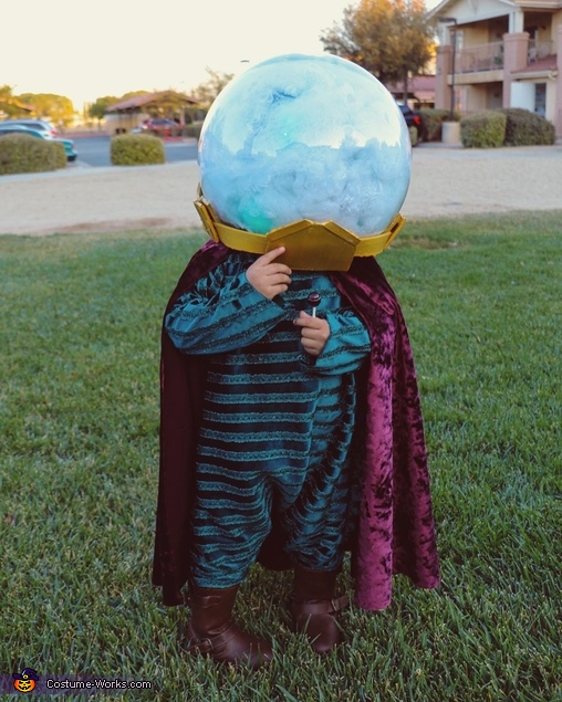 Baby Mysterio from Spider-Man Costume