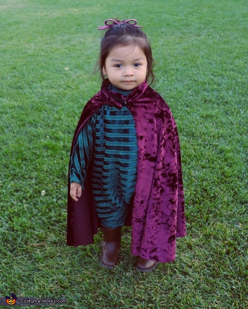 Baby Mysterio from Spider-Man Homemade Costume