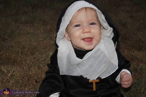 Baby Nun Homemade Costume