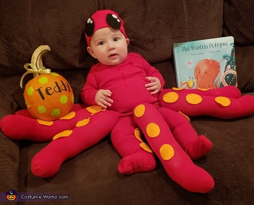 Baby Octopus Homemade Costume