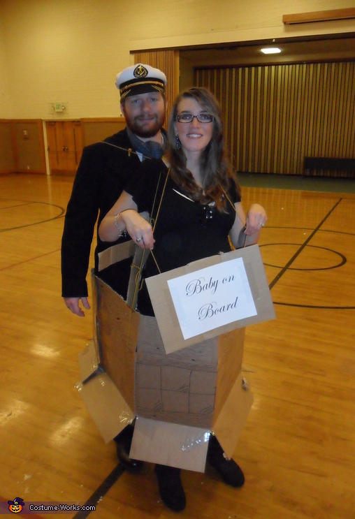 Baby on Board Pregnancy Couple Costume