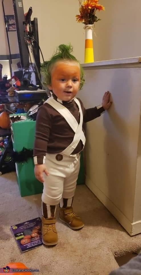 Who me, Baby Oompa Loompa Costume