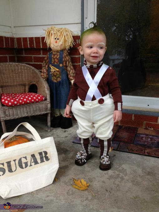 Oompa Loompa Baby, Baby Oompa Loompa Costume
