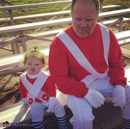 pap dressed too, Baby Oompa Loompa Costume