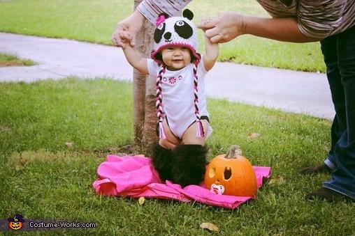 Baby Panda Homemade Costume