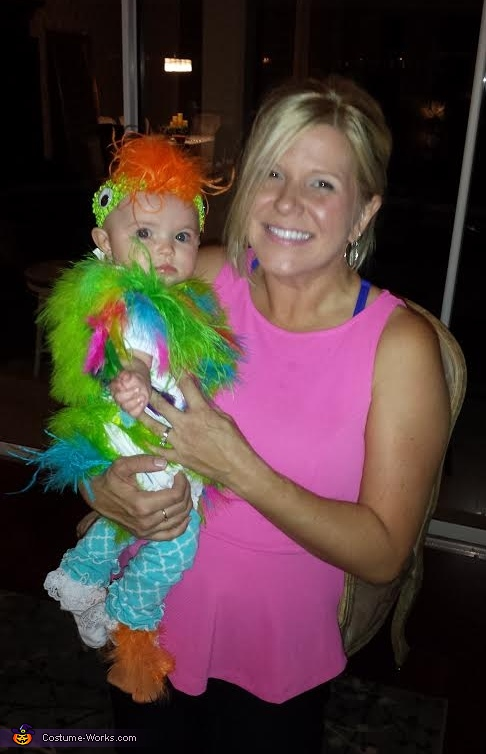 Frontside of Baby Parrot, Baby Parrot Costume