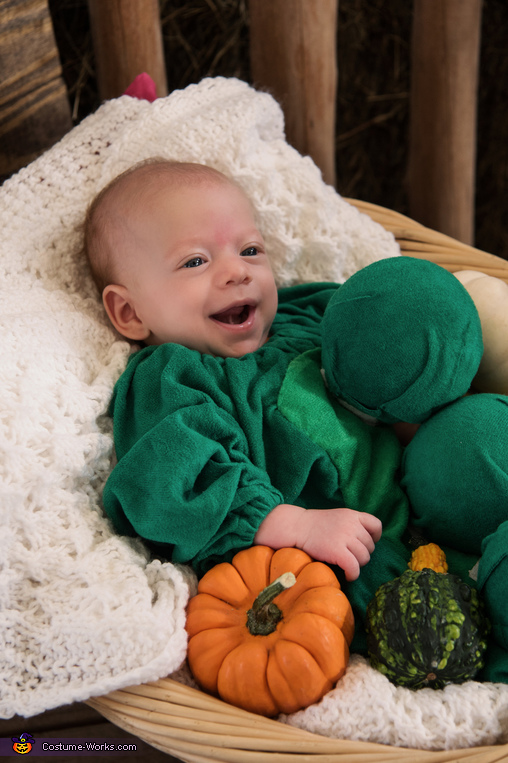 Baby pea pod, Baby Pea Pod Costume