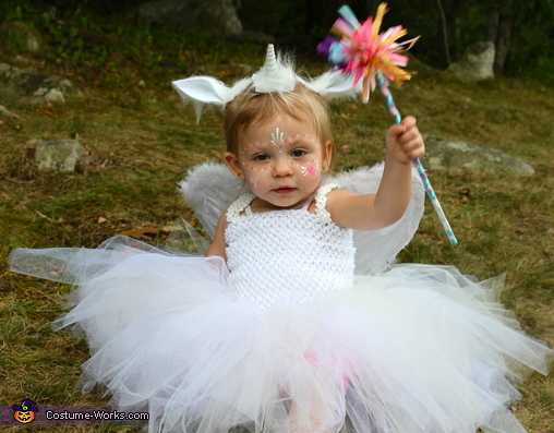 Baby Pegacorn Homemade Costume