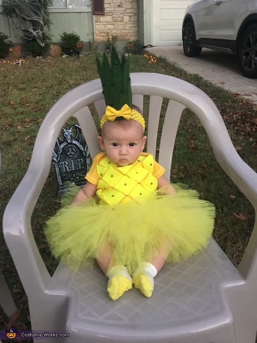 how to make a pineapple costume