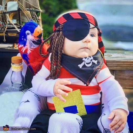 Ahoy Matey! It's Pirate Greyson, Baby Pirates Costume