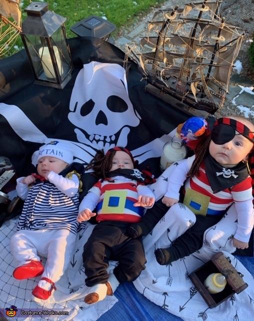 Baby Pirates Costume