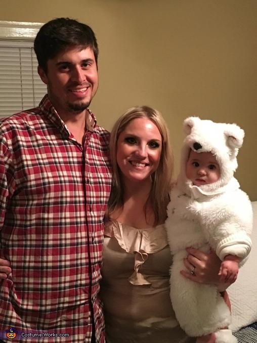 Mommys little polar bear, Baby Polar Bear Costume