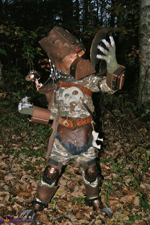 Baby Predator Homemade Halloween Costume