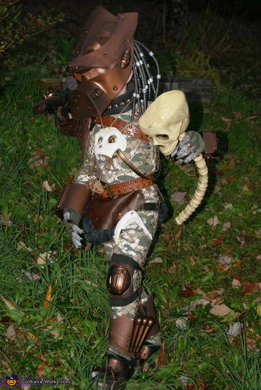 On the hunt..., Baby Predator Costume