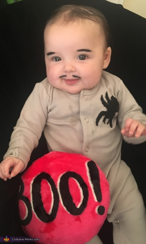 Baby Pubert Addams from Addams Family Costume